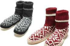 Leg Warmer House Shoes - Biolana Slipper Socks Keep You from Getting Cold Feet