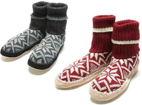 Leg Warmer House Shoes