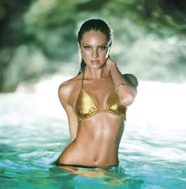 Vixen Swim Lookbooks - Victoria's Secret Swim 2011 Features the Sultry Candice Swanepoel