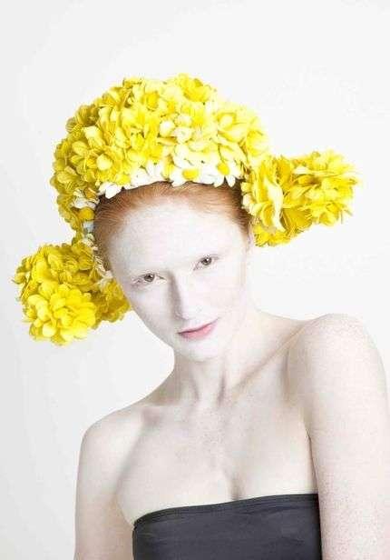Flashy Floral Headgear
