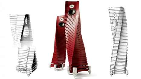 Spiralled Speakers