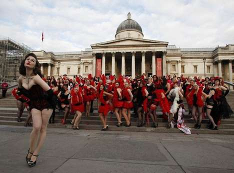 The Burlesque Dance in London, UK Hopes to Be the Biggest