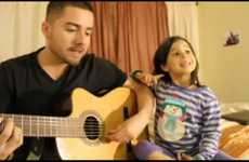 Adorable Dad-Daughter Duets
