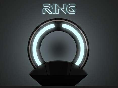 Sci-Fi Disc Lamps