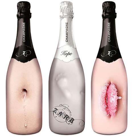 Sensual Bubbly Bottles