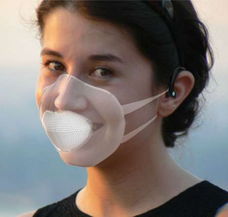 Tech-Savvy Smog Masks