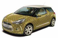 Textile-Cloaked Cars - The Orla Kiely Citroen DS3 Makes Eco Vehicles Fashionable