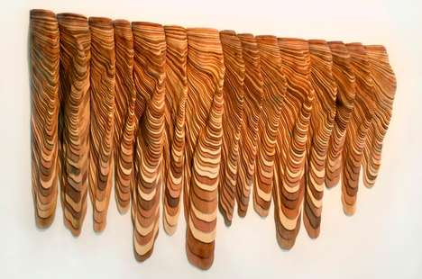 Melting Timber Carvings