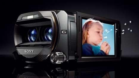 High-Tech 3D Camcorders