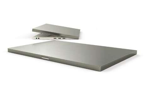 Minimalist Metal Laptops