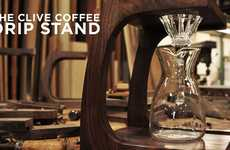 Naturalistic Coffee Stands - The Clive Stand Strays From Conventional Caffeine Machines