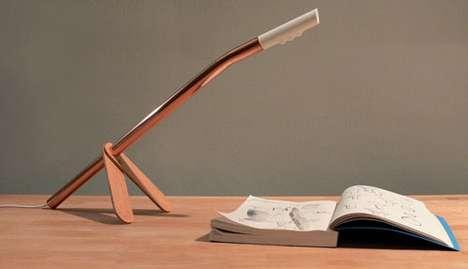 Slender Rod Lamps