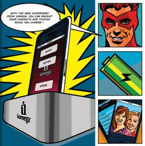 Superhero Smartphone Docks