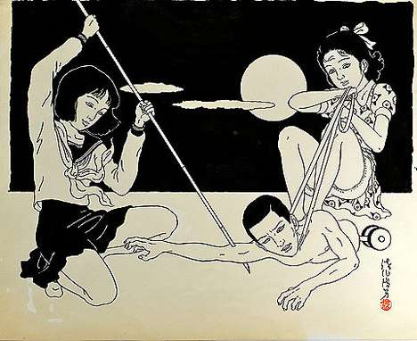 Macabre Asian Art