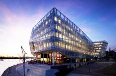 Super-Green Office Buildings - The Unilever Headquarters Design is a Sustainable Success Story