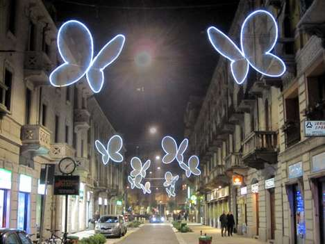 Illuminated Insect Installations