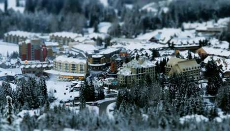Tilt-Shift Ski Resorts