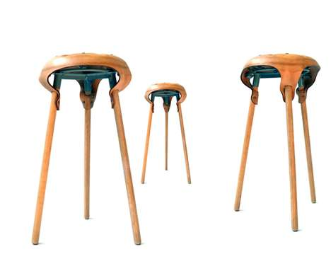 Saddled Bar Stools