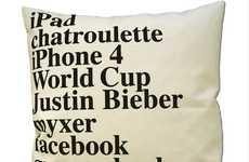 Commemorative Keyword Cushions