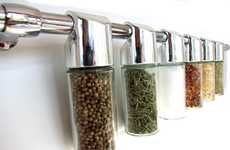 Levitating Spice Racks