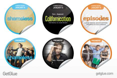 TV Show Check-In Promos - The GetGlue App and Showtime Network Teams Up for Free Giveaways