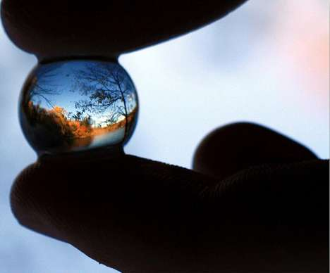 Crystal Ball Landscapes - This 'Life Through a Marble' Series by Cabe26 is Mesmerizing