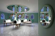 Amazing Modernist Showcases - The Groninger Museum Presents an Intriguing Contemporary Space