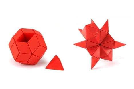 Origami-Inspired Desk Toys