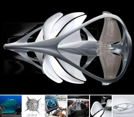Manta Ray Sculptures