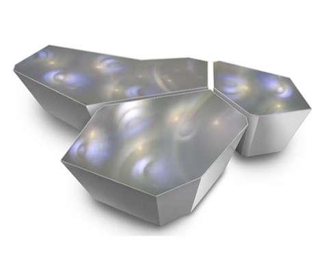 LED-Illuminated Counters