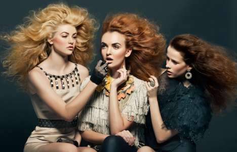 Blown-Out Hair Photography