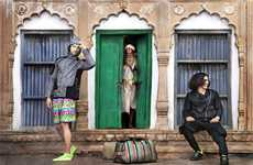 Exotic Sportswear Shoots - Dhruvin's 'Vrindavan Blues' Series was Shot in Indi