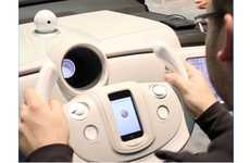 Smartphone Driving Supervisors - The Denso Passenger Eye System Helps You Arrive Alive