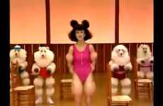 Hilarious Canine Isometrics - Pump Some Poodle Iron With Mariko Takahashi