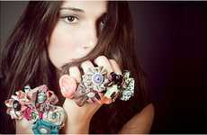 Upcycled Heirloom Accessories - Jewelry by Green Designer Yael Uriely Always has a Story