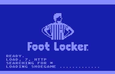Pixelated Shoe Games