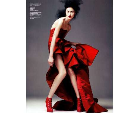 66 Red Hot Vogue China Covers