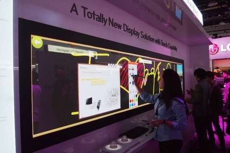 Touchscreen Televisions