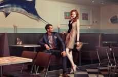Dashing Diner Photography - Monica Kvaale Focuses on the Glamorous Side of Life