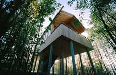 Treetop Suites -  Lumber Lodging in a Tree House in the Hotel Hofgut Hafnerleiten