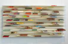 Modular Libraries - Studio Parade Aligns Books into Works of Art