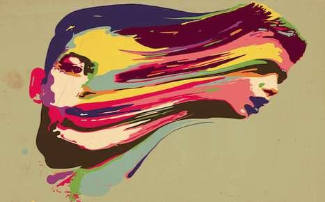 Psychedelic Smear Art