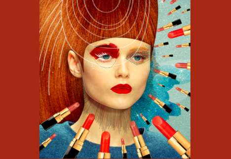 Fragmented Fashion Illustrations