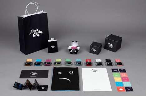 Typographic Treat Packaging