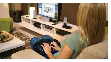 Wireless On-Lap Keyboards