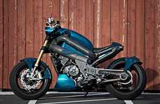 Hot Custom Motorbikes - The Motomorphic JaFM is Designed to Rule the Road