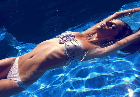 Striking Swimwear Lookbooks