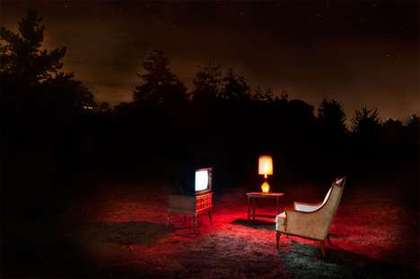 Eerie Furniture Photography