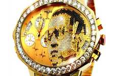 Celebrity Cameo Bling - Tiret Watches Releases a Custom Kanye West Gold Watch