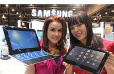Sliding Keyboard Tablets - The Samsung PC7 is Designed for Tablet Typists
